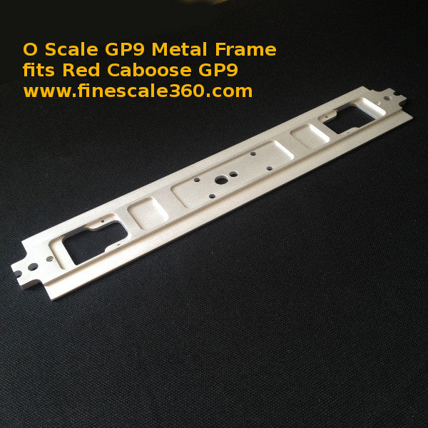 Red Caboose GP9 Metal Frame Upgrade Kit