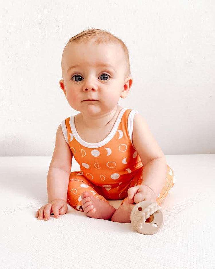 Blue Fish Tank Romper
