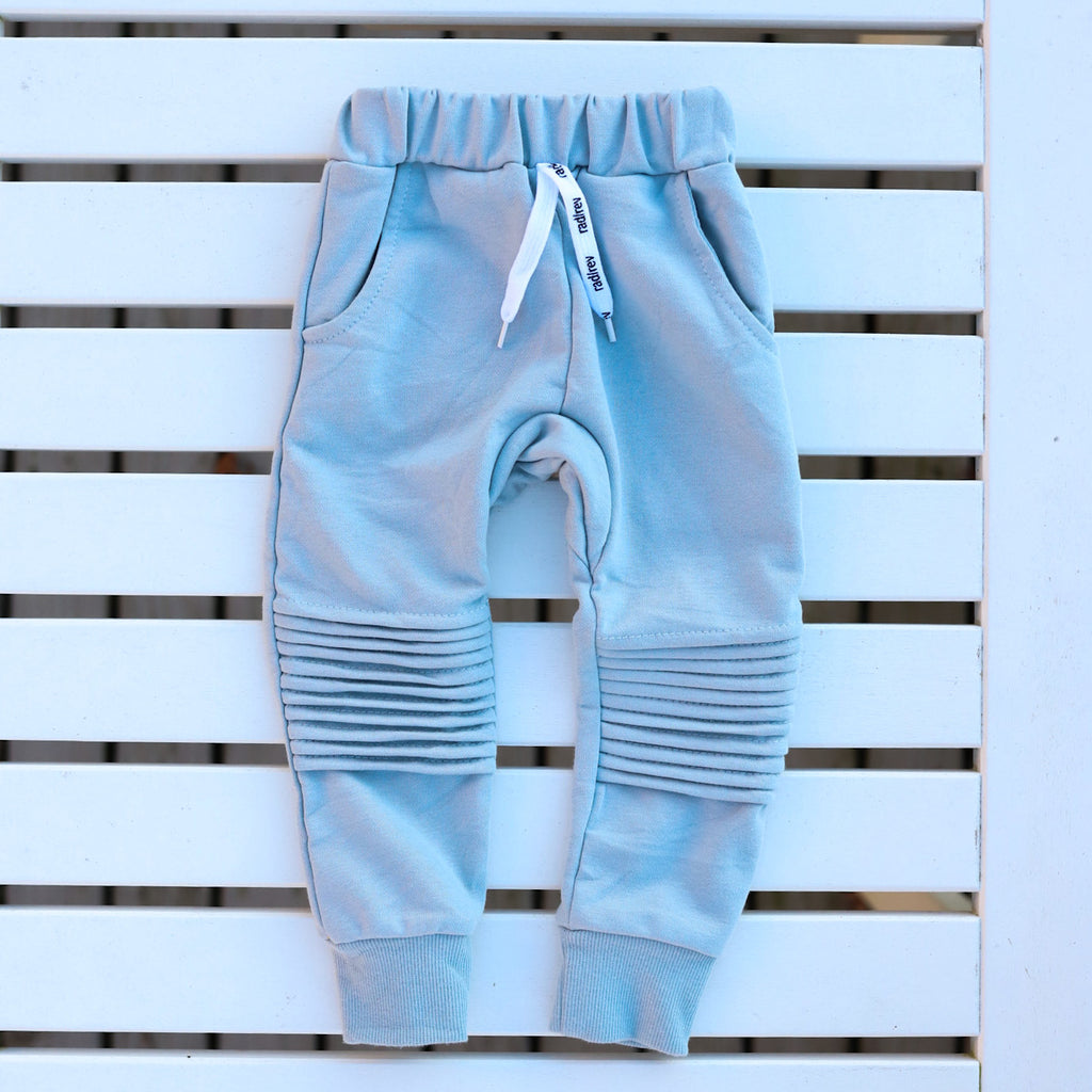 Sky Blue Motto Joggers