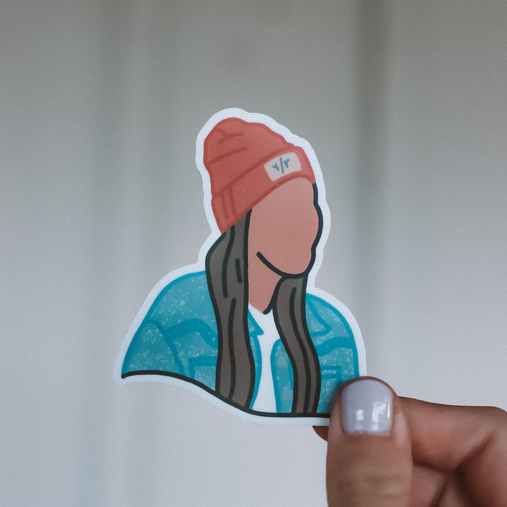 Silhouette Sticker