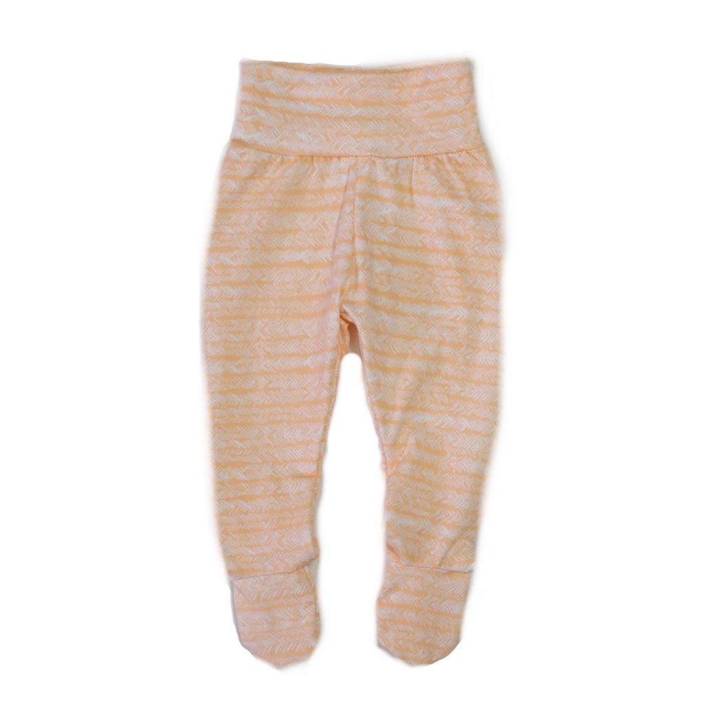 Peach Wave Footies