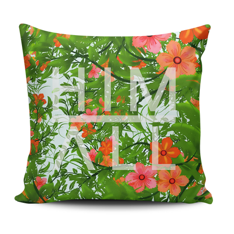 Red Flower Pattern Pillow , PILLOW - HIM ABOVE ALL, HIM ABOVE ALL