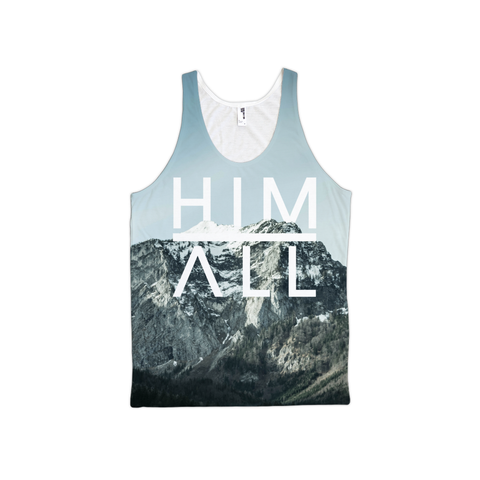 Mountain Tank - Unisex , TANKS - HIM ABOVE ALL, HIM ABOVE ALL