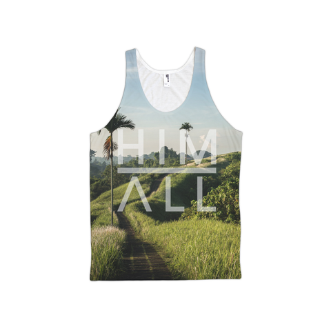 South American Palms Tank - Unisex , TANKS - HIM ABOVE ALL, HIM ABOVE ALL