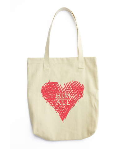Love in Your Heart Tote , TOTES - HIM ABOVE ALL, HIM ABOVE ALL