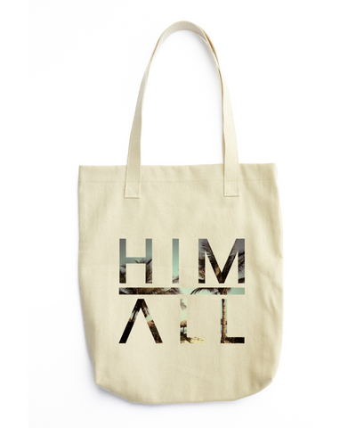 California Palm Tote , TOTES - HIM ABOVE ALL, HIM ABOVE ALL