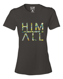 Blue Flower - Women , SHIRTS - HIM ABOVE ALL, HIM ABOVE ALL  - 2