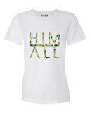 Blue Flower - Women , SHIRTS - HIM ABOVE ALL, HIM ABOVE ALL  - 1