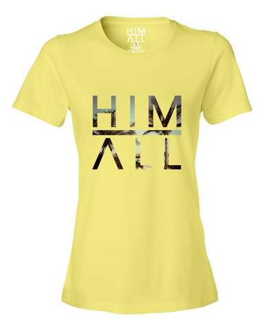 Palms - Women , SHIRTS - HIM ABOVE ALL, HIM ABOVE ALL  - 1