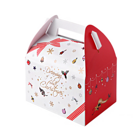 Christmas Bag Box Red