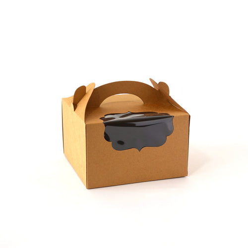 Take-Out Cake Box with Window