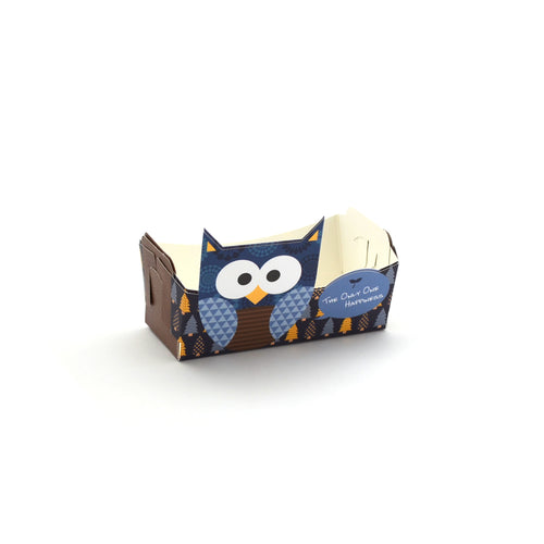 Owl Cookie Tray Blue