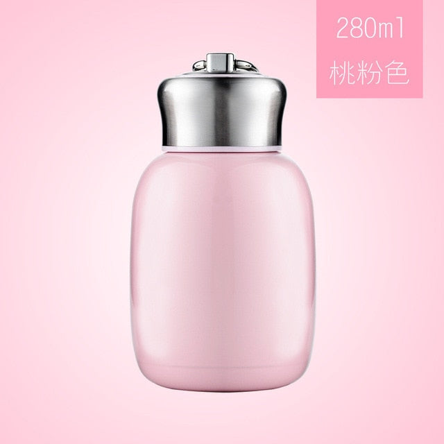 Mini Pastel Coffee Thermos 280ml