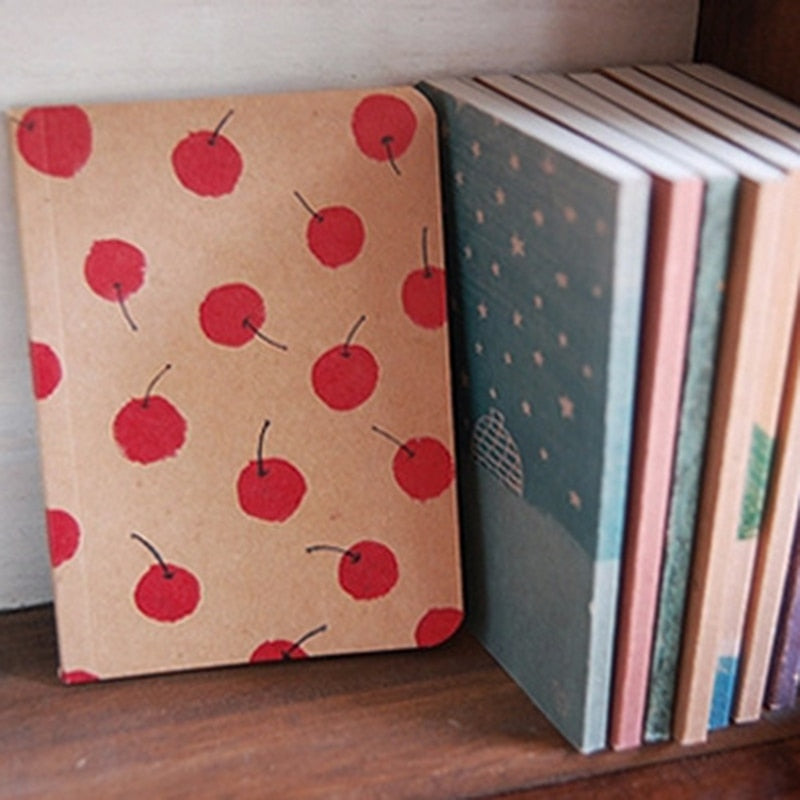 Vintage Pastel Drawing Notebook - 8 Styles