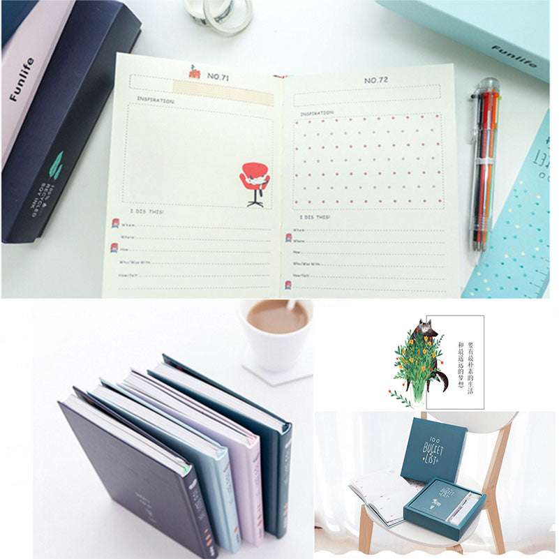 Hardcover Notebook Planner Gift Set A5