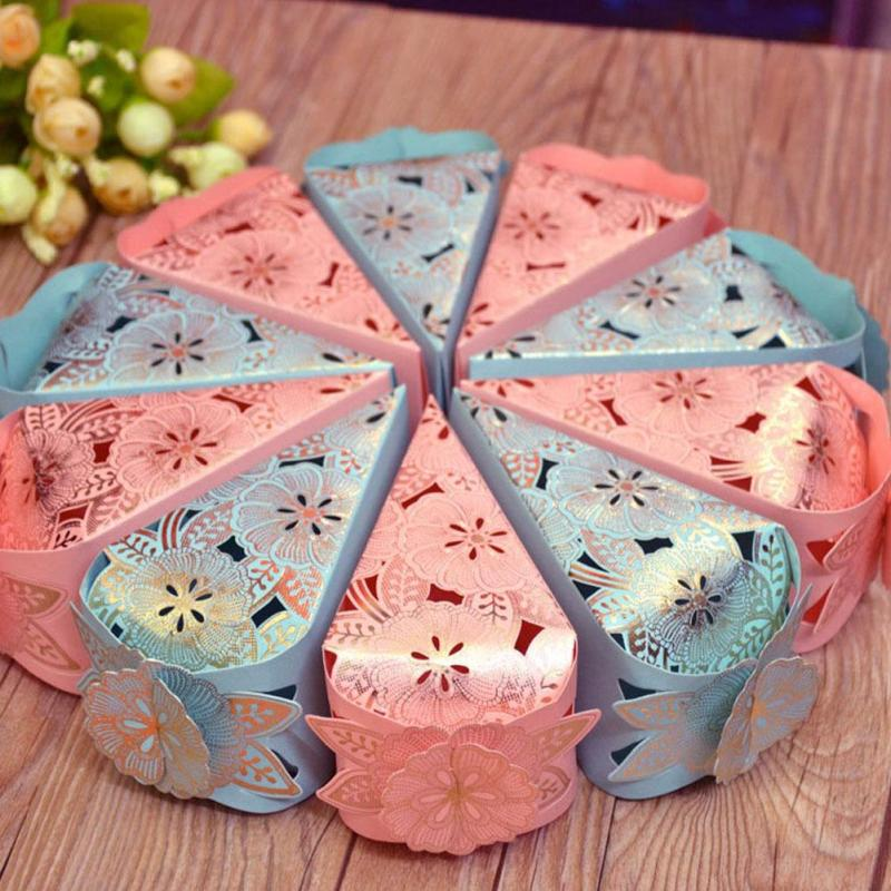 Triangle Shimmer Dust Cake Slice Box 5ct