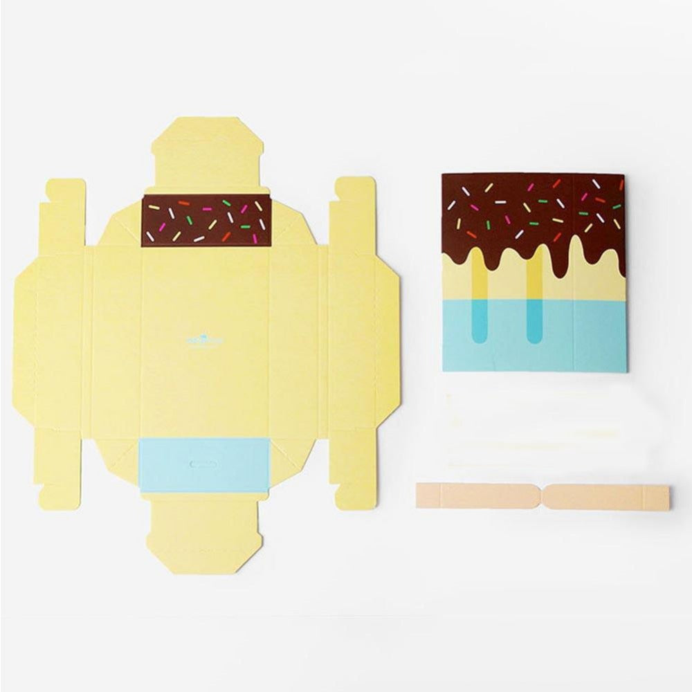 Ice-Cream Shape Gift Candy Box Set