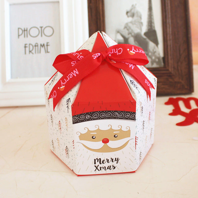 Christmas  House Shape Gift Box for Cookie and Candy