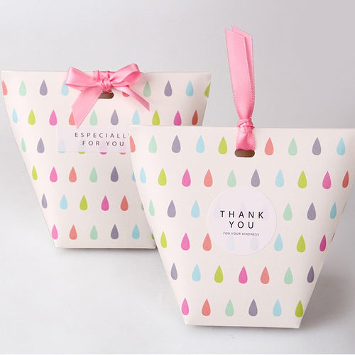 Water Drop Party Favor Candy Box 10ct