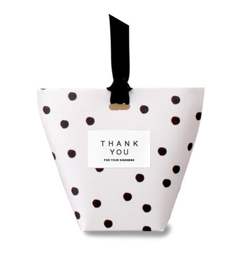 Polka Dot Candy Party Favor Box