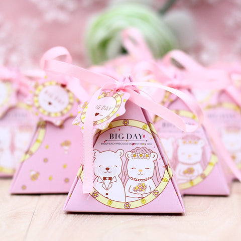 Rabbit Triangle Cake Box 100ct