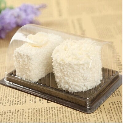 Clear Rectangle Cake Container