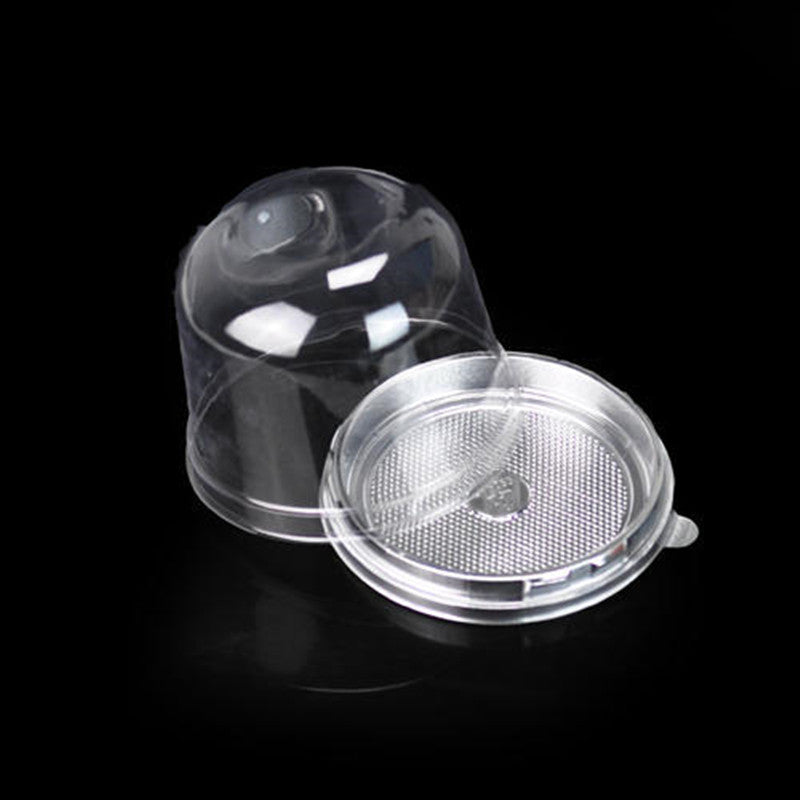 Clear Cake Container Box for Cupcake Muffin 40pc