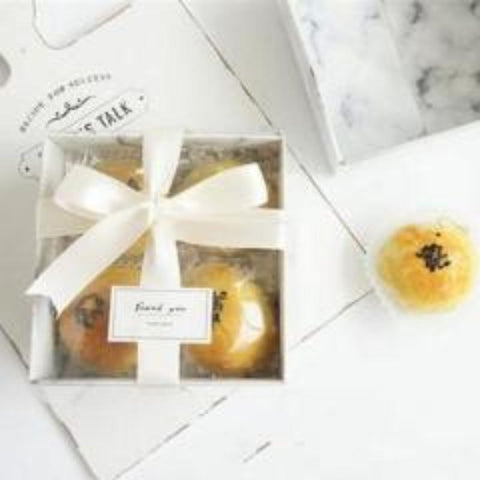 Transparent Front/Top Window Muffin Cake Box 30ct