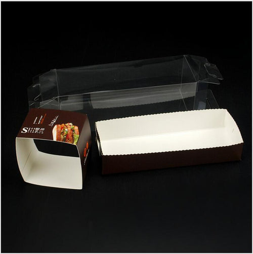 High-grade PET Transparent  Sandwich Box 50ct