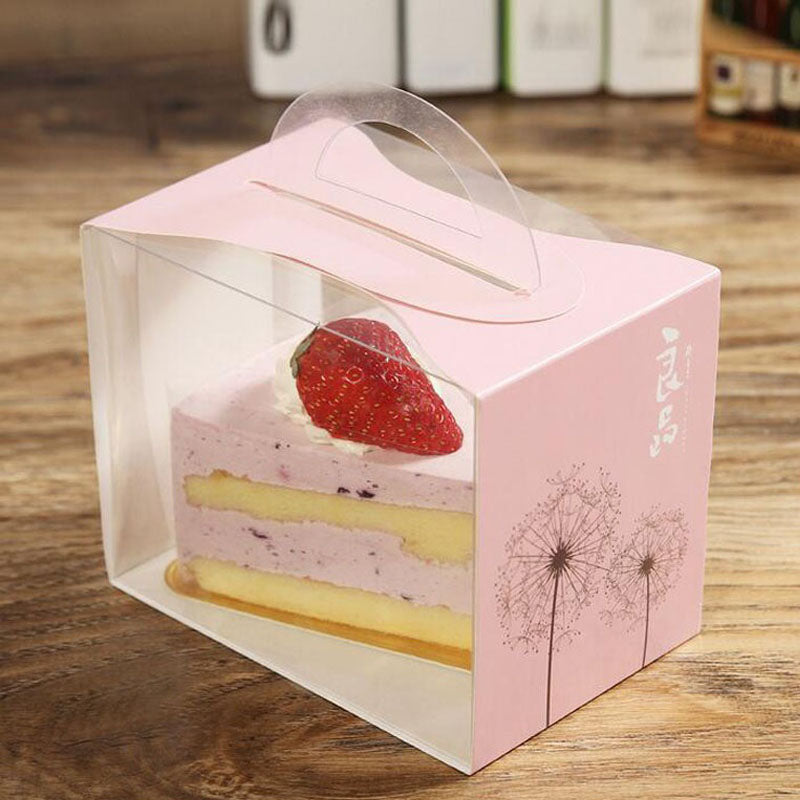 PVC Transparent Cake Box 100ct