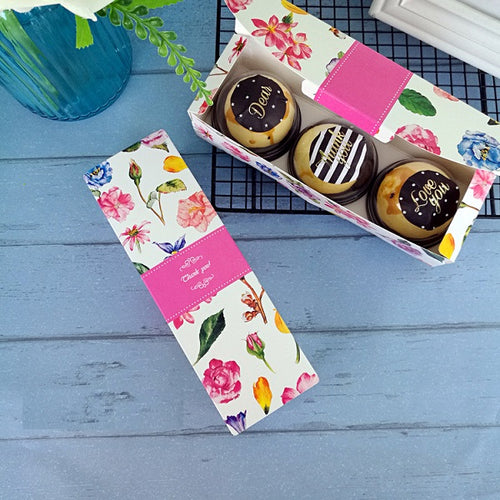 Macaroon Cake Cookie Gift Box 100ct