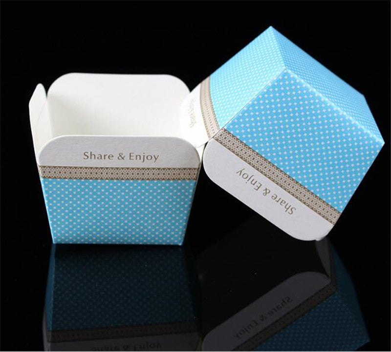 Square Dessert Cup Cake Muffin Holder 100ct