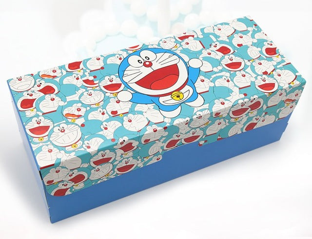 Roll Cake Box Characters Theme 10ct