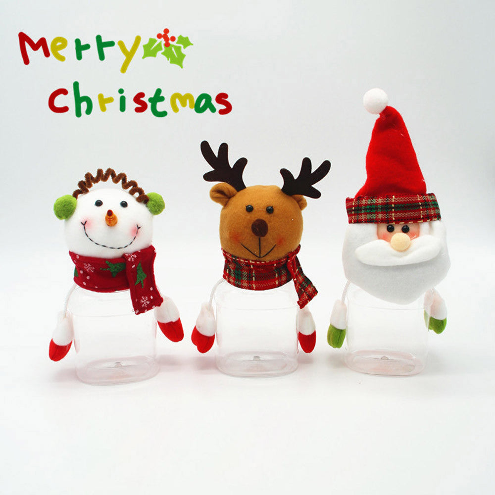 Christmas Decoration Candy Gift Jar Container
