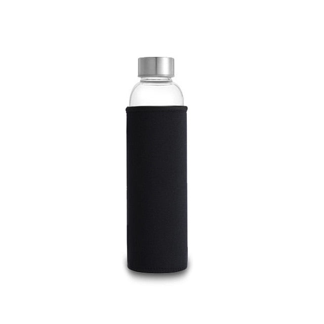 Sporty Spice Style - Tall Glass Water Bottle 550ml
