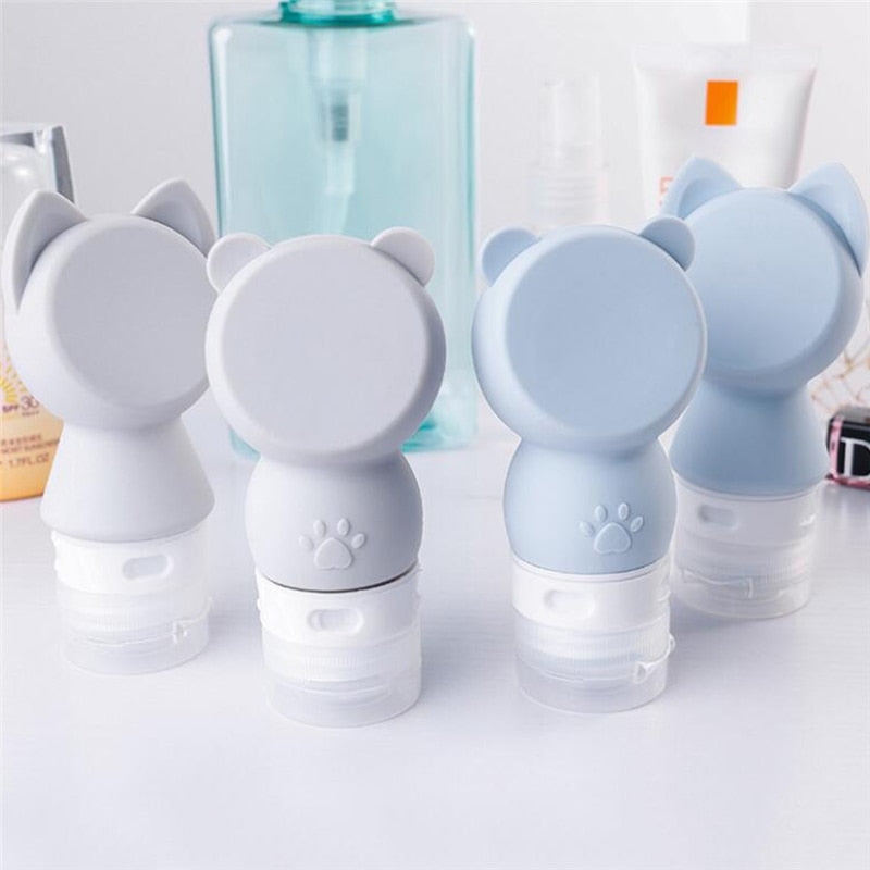 60ml Silicone Travel Squeeze Bottle - Reusable, Portable, Lotion, Soap