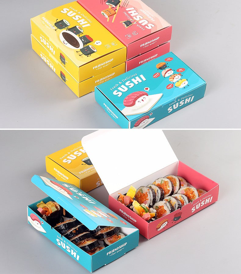 Sushi Bento Box window - 20pcs