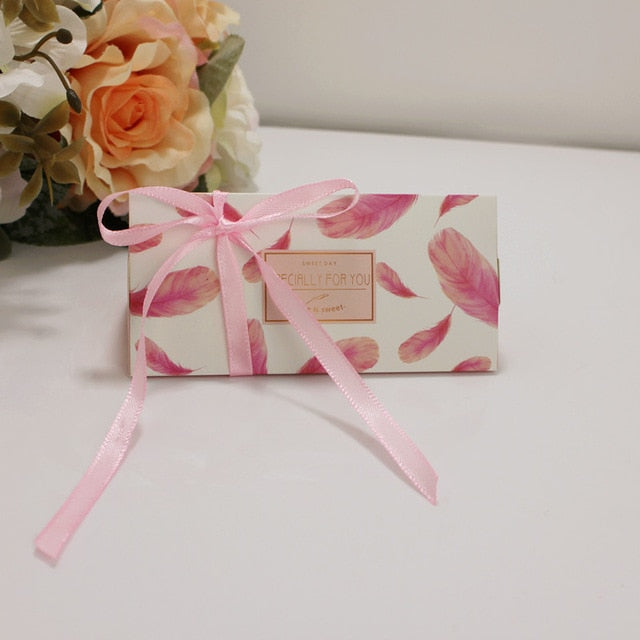 Triangle Brick Paper Candy Box - 20pcs