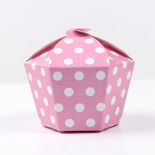 Starry Muffin Cake Box - 10pcs
