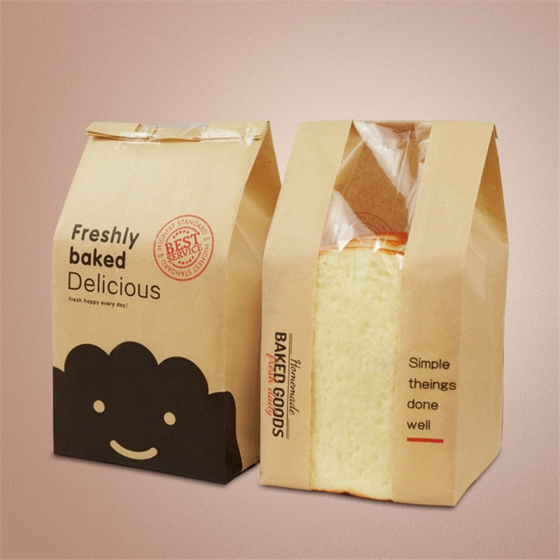 Rectangle Bread Bag - 50pcs