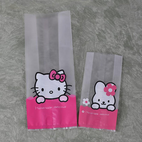 Cute Kitty Candy Cookie Pouch - 100pc