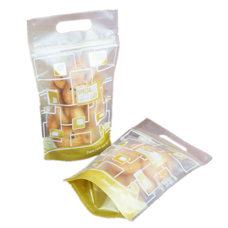 Cookie Package Self Adhesive Pouch - 50 count