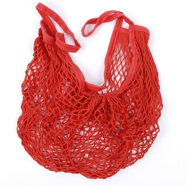 Mesh Shopping Bag Reusable Tote