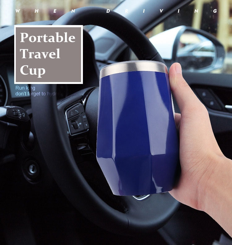 Diamond Wine Travel Cup Stainless Steel 300ml
