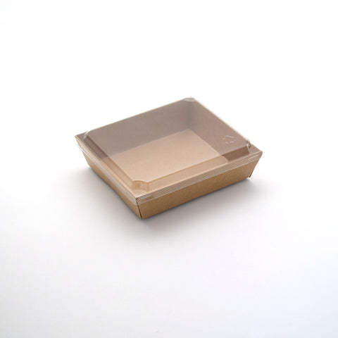Green Sandwich Tray Rectangle w/ Lid
