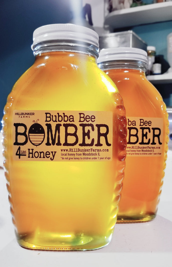 4lb Honey Bombers now available