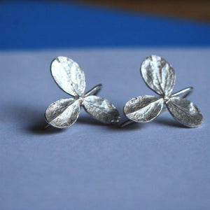 Organic leaf Earrings - Zulasurfing Jewelry  - 1