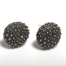 Load image into Gallery viewer, Sterling Silver Baby sea urchin earrings - Zulasurfing Jewelry  - 1