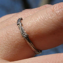Load image into Gallery viewer, Sterling silver tree branch ring - Zulasurfing Jewelry  - 1