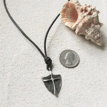 Load image into Gallery viewer, Surfer Necklace with silver Pendant